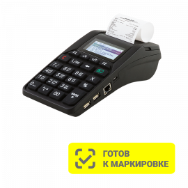 АТОЛ-92Ф, Wi-fi, BT, 2G, Ethernet, с ФН 36 мес., черный